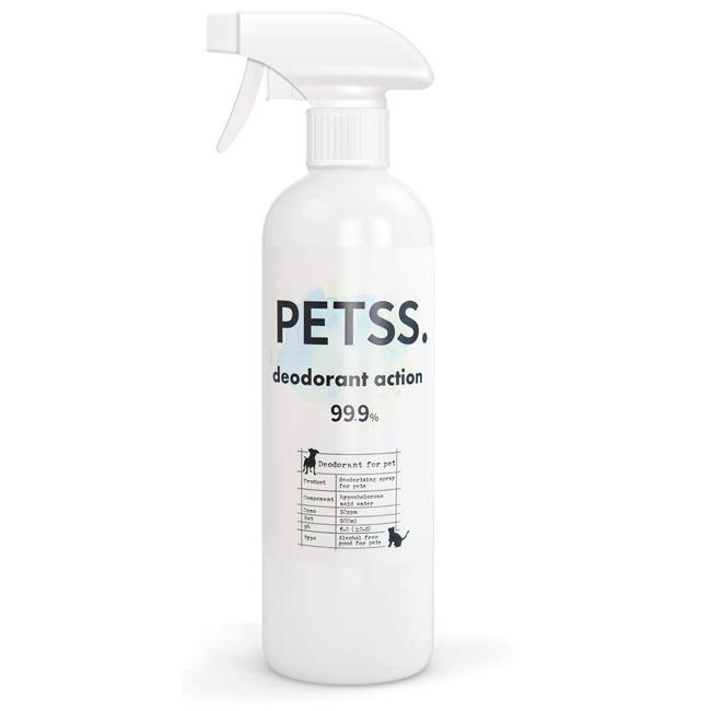 PETSS deodorant action (ペット用消臭税)×1本